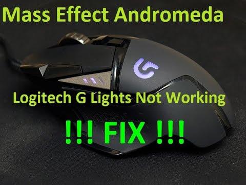 Mass Effect Andromeda Logitech G Lights Not Working FIX!!!