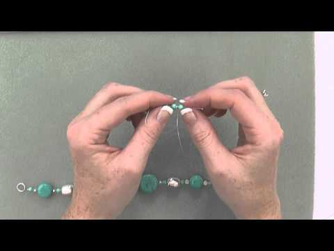 How to Make a Necklace, Bracelet & Earrings with Simply Beads' Turquoise & Silver Kit