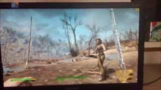 Low Cost $275 Gaming PC Fallout 4 Test ULTRA 1440x900 Quad Core NVIDIA
