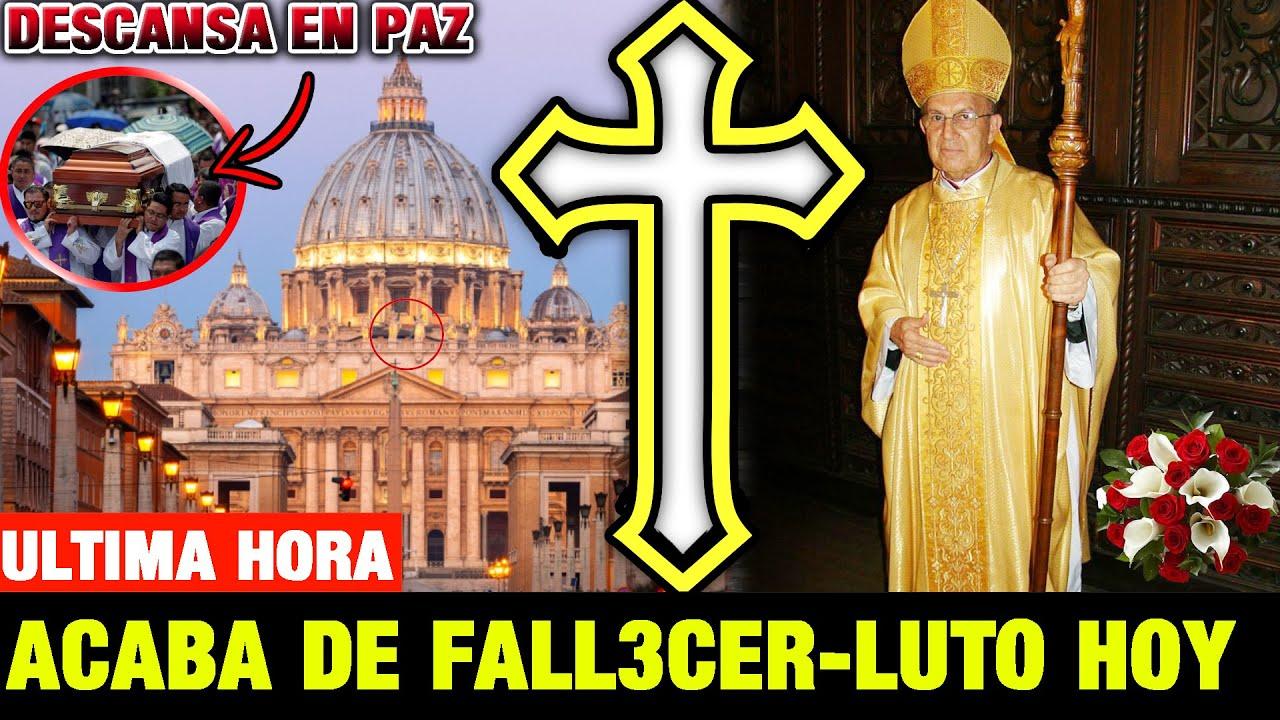➕ ¡ULTIMA HORA! LAMENTABLE NOTICIA Luto en el VATICANO Sucedió HOY papa francisco de luto -Sacerdote