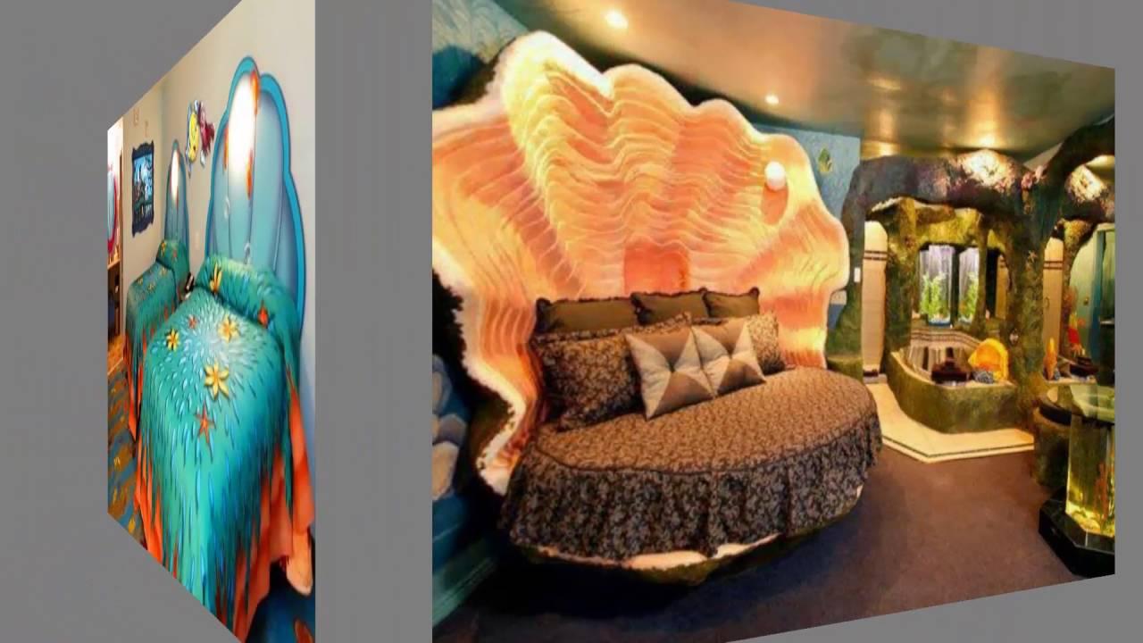 beach themed bedrooms for teenagers full rh youtube com Underwater Themed Bedroom Ocean Themed Bedroom