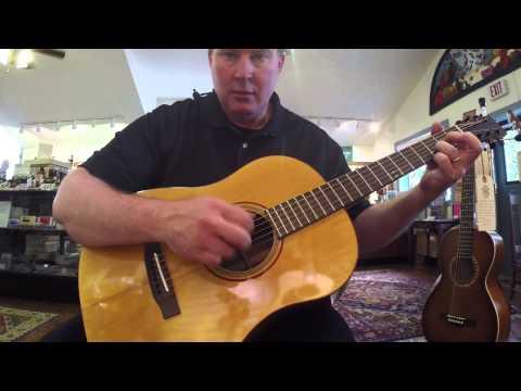 Acoustic Corner - Black Mountain - Playing Larrivee Guitars