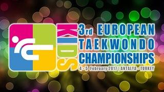 3rd European Kids Taekwondo Championships (Antalya, Turkey) | Чемпионат Европы по таеквондо, дети(3-й Чемпионат Европы по таеквондо среди детей проходил в Белеке (Анталия, Турция) 4-5 февраля 2017 года. Лучшие..., 2017-02-04T21:34:50.000Z)