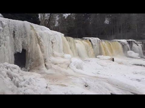 Estonia - Winter - Waterfall