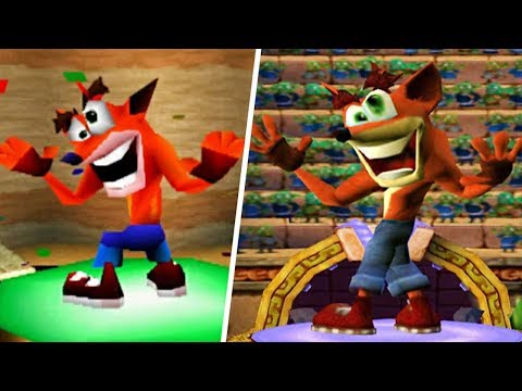 CTR vs CNK - Victory Animation Comparison | Road To CTR Nitro-Fueled
