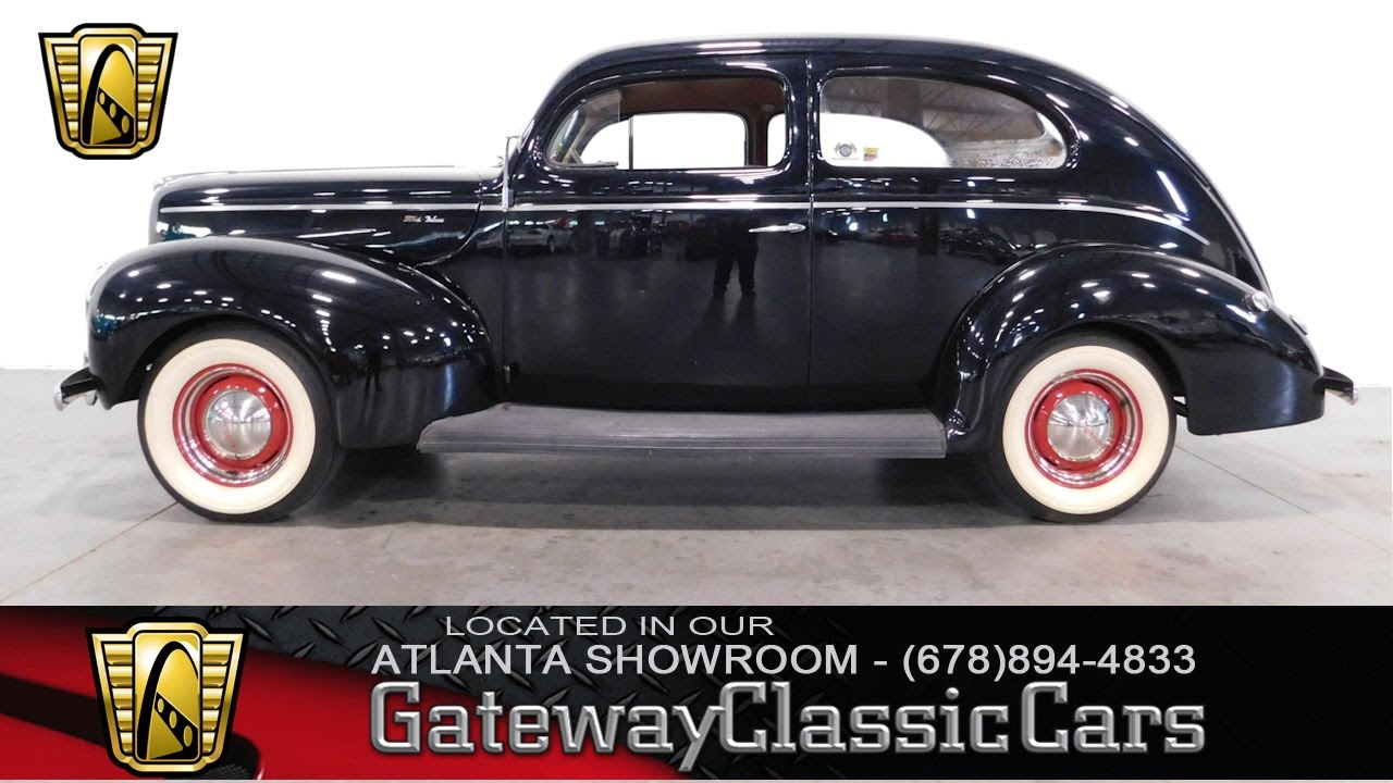 1940 Ford Deluxe - Gateway Classic Cars of Atlanta #292 - YouTube