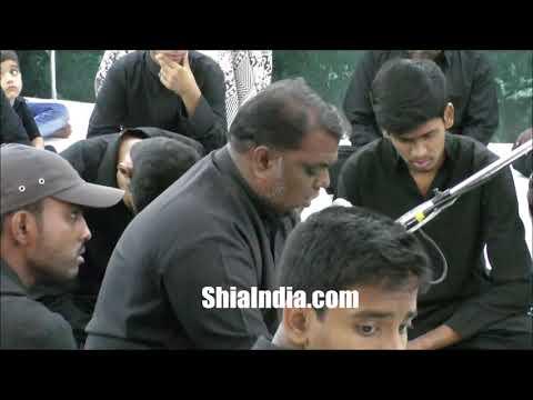6th Muharram Majlis at Hussaini Kothi 1439-2017-18