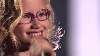 БЕЗУМНО МИЛАЯ ДЕВОЧКА!!! Лучшие Выступления. Шоу Голос Дети Слепые Прослушивания.