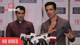 Sonu Sood And Vijender Singh  At TOI Sports Awards 2nd Edition | The Times Of India Awards