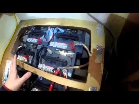 RV Living Solar: Mppt Charge Controller, Large Battery Bank & Loose Wire