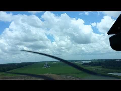 20150529 133729  May 29, 2015  landing at South Lafourche Airport (Galliano, LA)