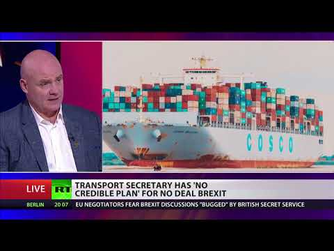 Chris Grayling has 'no credible plan' for a no deal Brexit