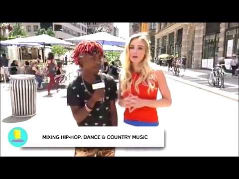 YvngSwag Big Green Tractor REMIX Video Ends Racism Interview @Cheddar Tv News CREW