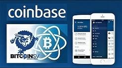 COINBASE NEWS: Bitcoin Cash Fork BSV