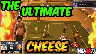 the ultimate cheese   most slept on and effective archetype   nba 2k17 mypark   6 4 pg shot creator