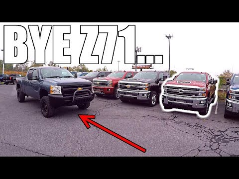 SAYING GOODBYE TO THE Z71... BUT HELLO DURAMAX!!