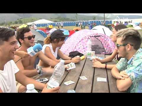 El camping del Bilbao BBK Live