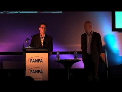 Interview with Darren Burden and Simon Holt at the PANPA Future Forum