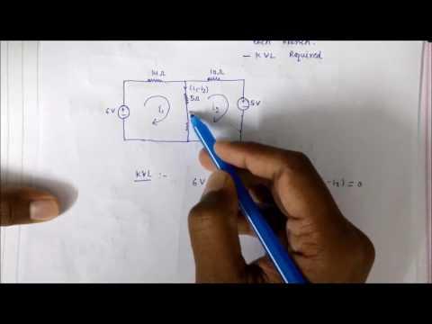 Mesh Analysis   Network Theory