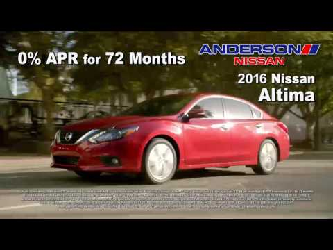 Anderson Nissan Go Rogue Year End