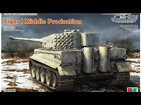 Rye Field Models Tiger 1 Middle Production inbox review.