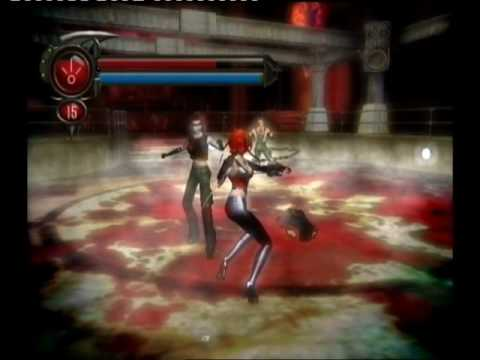 BloodRayne 2 - gameplay Union Station: Club Storages - YouTube