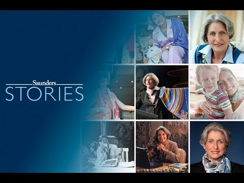 Michael Saunders and the Story of Her Scarves