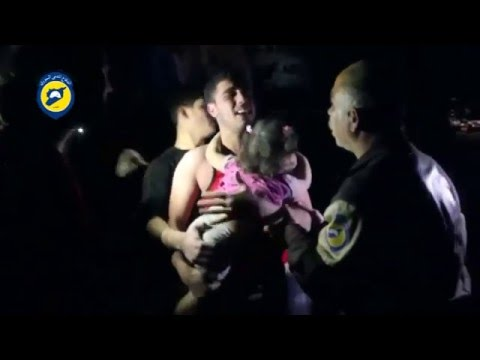 Children and doctors killed in air strike on Syrian hospital