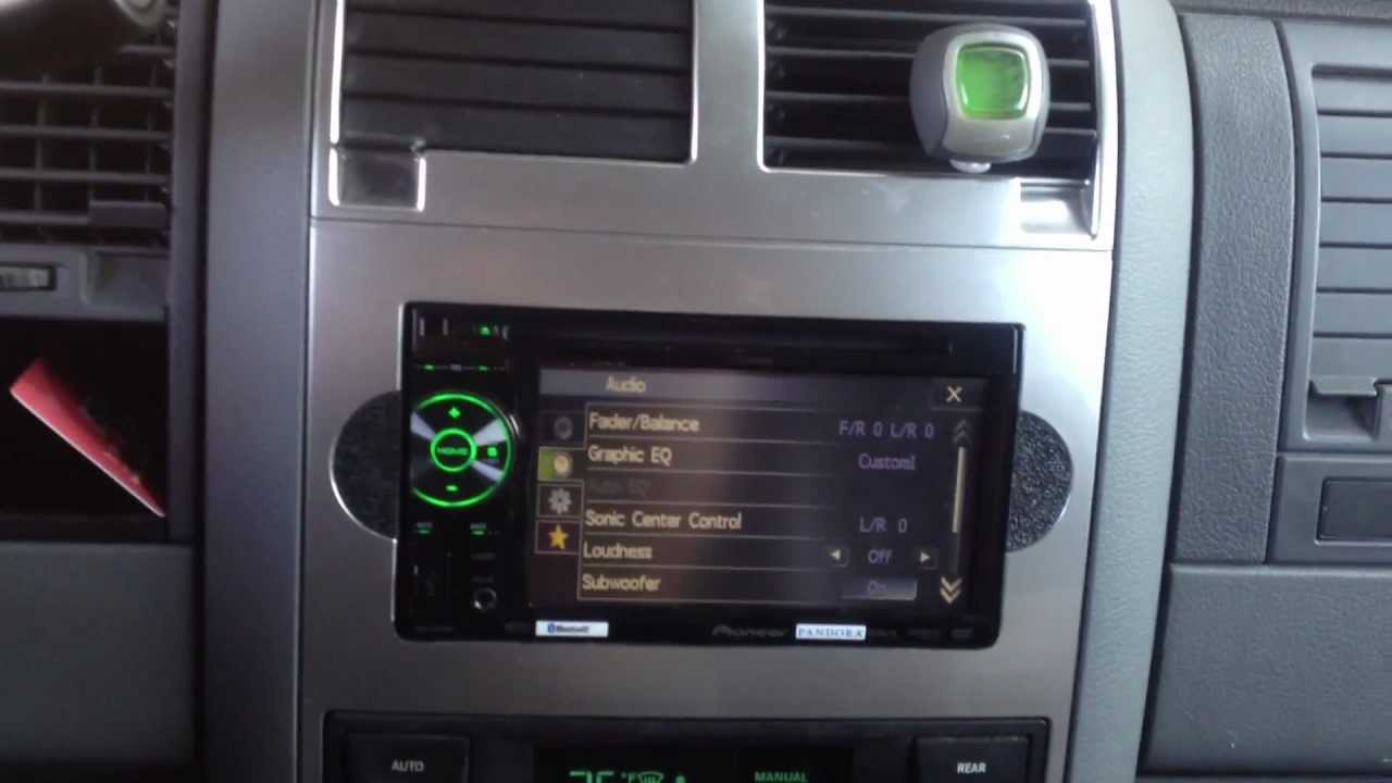 2005 Dodge Durango AVH-P2400BT custom install - YouTube