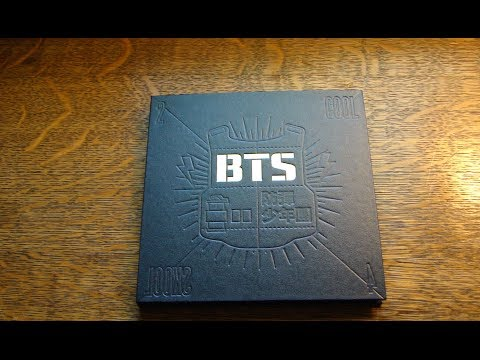 [UNBOXING] BTS/Bangtan Boys- 2 Cool 4 Skool (The 1st Single Album)