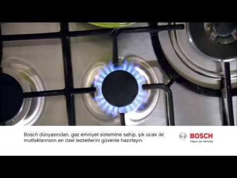 Bosch Gaz Emniyet Sistemli Ocakları
