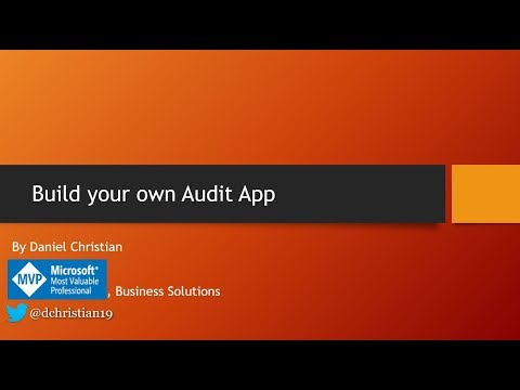 Build Your Own Audit App Using PowerApps