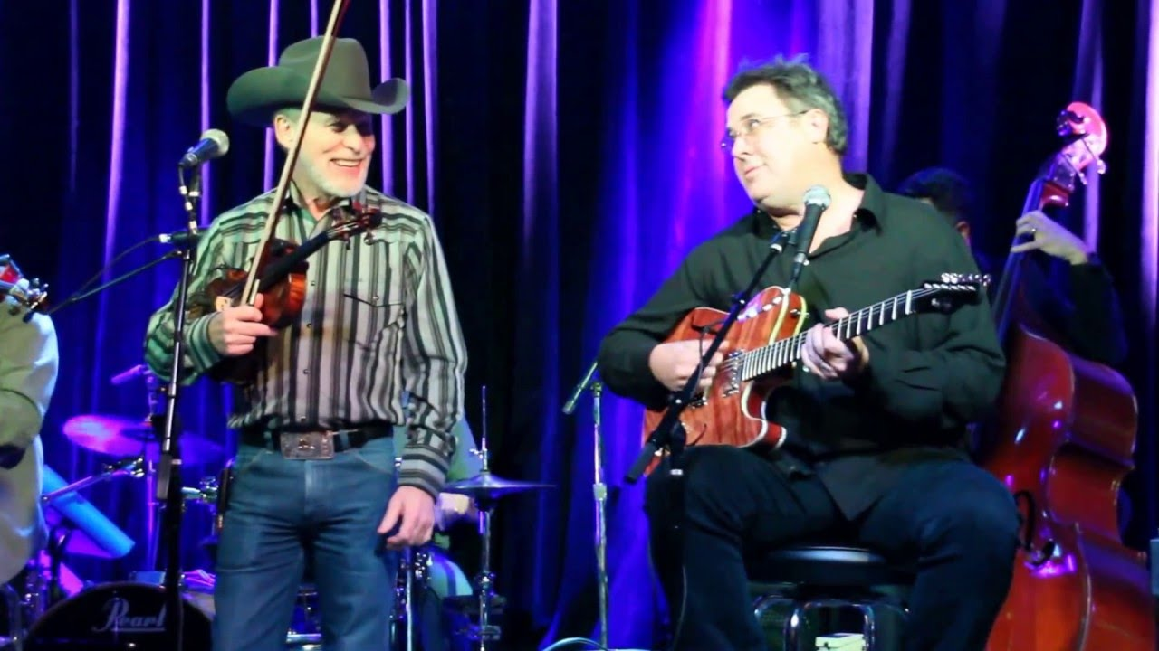 The Time Jumpers Kenny Sears and Vince Gill singing duet San
