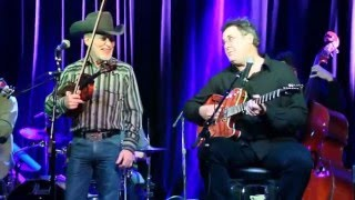 The Time Jumpers, Kenny Sears and Vince Gill singing duet San Antonio Rose ... too funny!