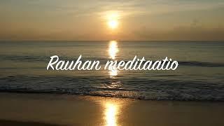 Rauhan meditaatio