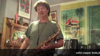 Voodoo Rex Tenor Saxophone by Saxgourmet with Chris Savage