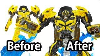 Як налаштувати Трансформери 5 Іграшка? (До і після) - клас Джміль Делюкс швидка деталь