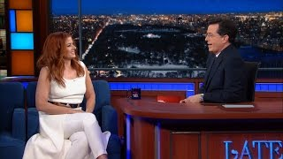"Debra Messing ""Does"" ""All"" Her ""Own"" Stunts"