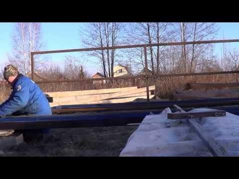видео: Теплица своими руками 1 и 2 день! теплица своими руками