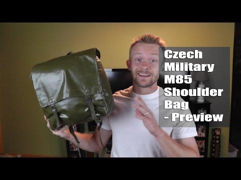 Czech Military M85 Shoulder Bag - Preview