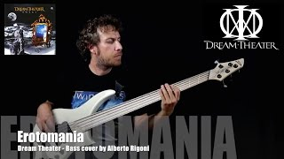 Dream Theater - Erotomania (bass cover by Alberto Rigoni)
