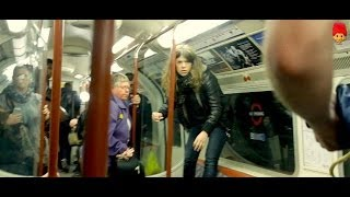 Snakes On A Train Prank