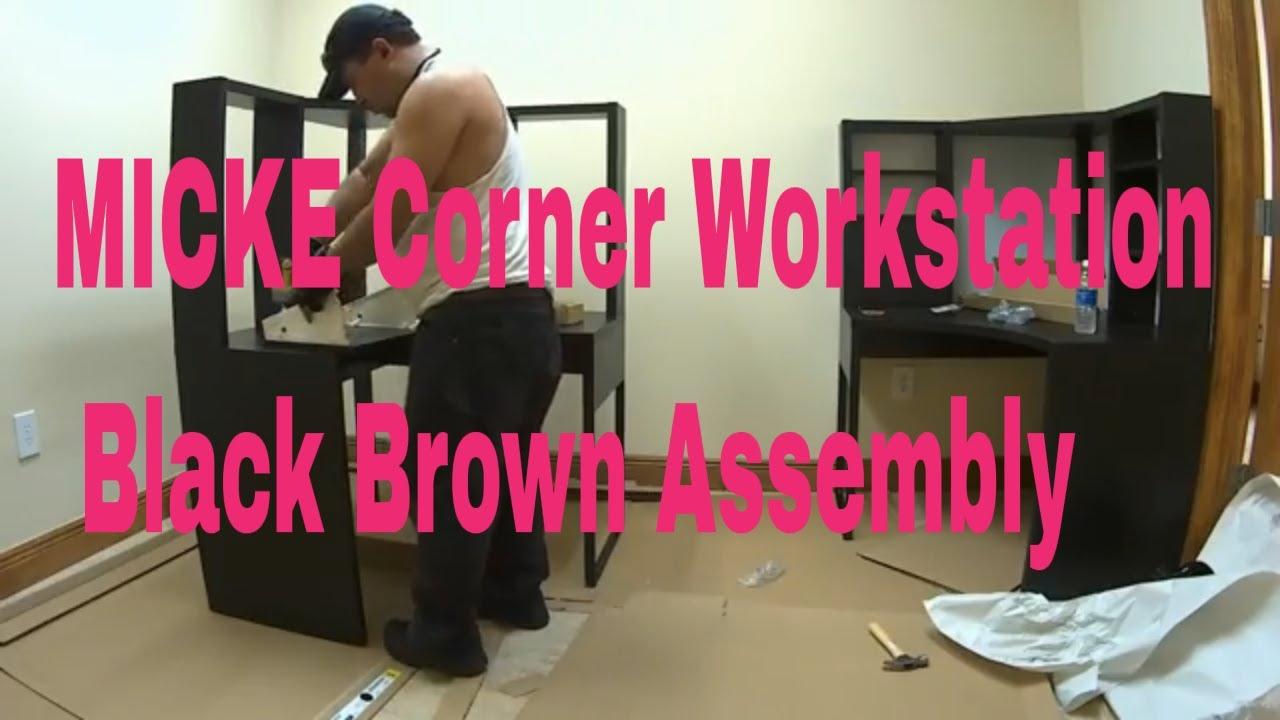 Ikea desk assembly instructions micke desk ideas