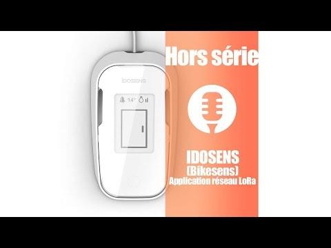 Idosens (et Bikesens): application du réseau LoRa (présentation)