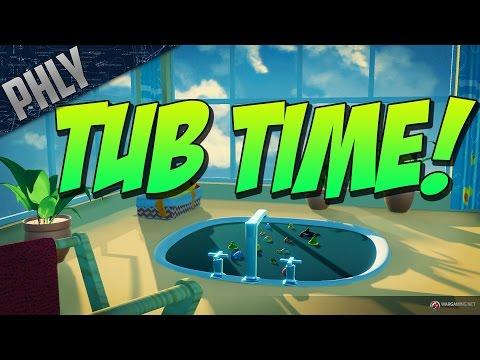 WORLD OF WARSHIPS APRIL FOOLS! BATH TUB BRAWL! (World Of Warships Gameplay)
