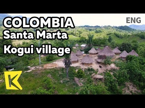 【K】Colombia Travel-Santa Marta[콜롬비아 여행-산타마르타]코기족 마을/Kogui/Village/Native/Sierra Nevada