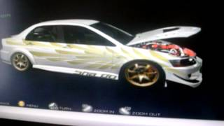My cars in Import Tuner Challenge