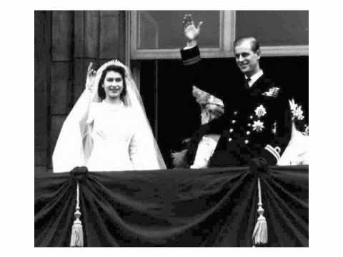 A Royal Wedding Princess Elizabeth Weds Philip 1947 British