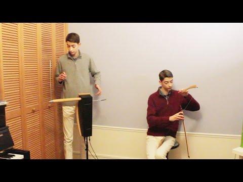 Theremin & Musical saw duet : Passacaglia (J.Halvorsen) / Grégoire Blanc