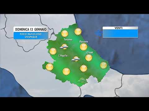 Il Meteo - Abruzzo | Previsioni per domenica 13 gennaio ...